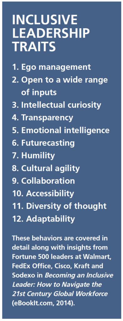 inclusive leadership traits