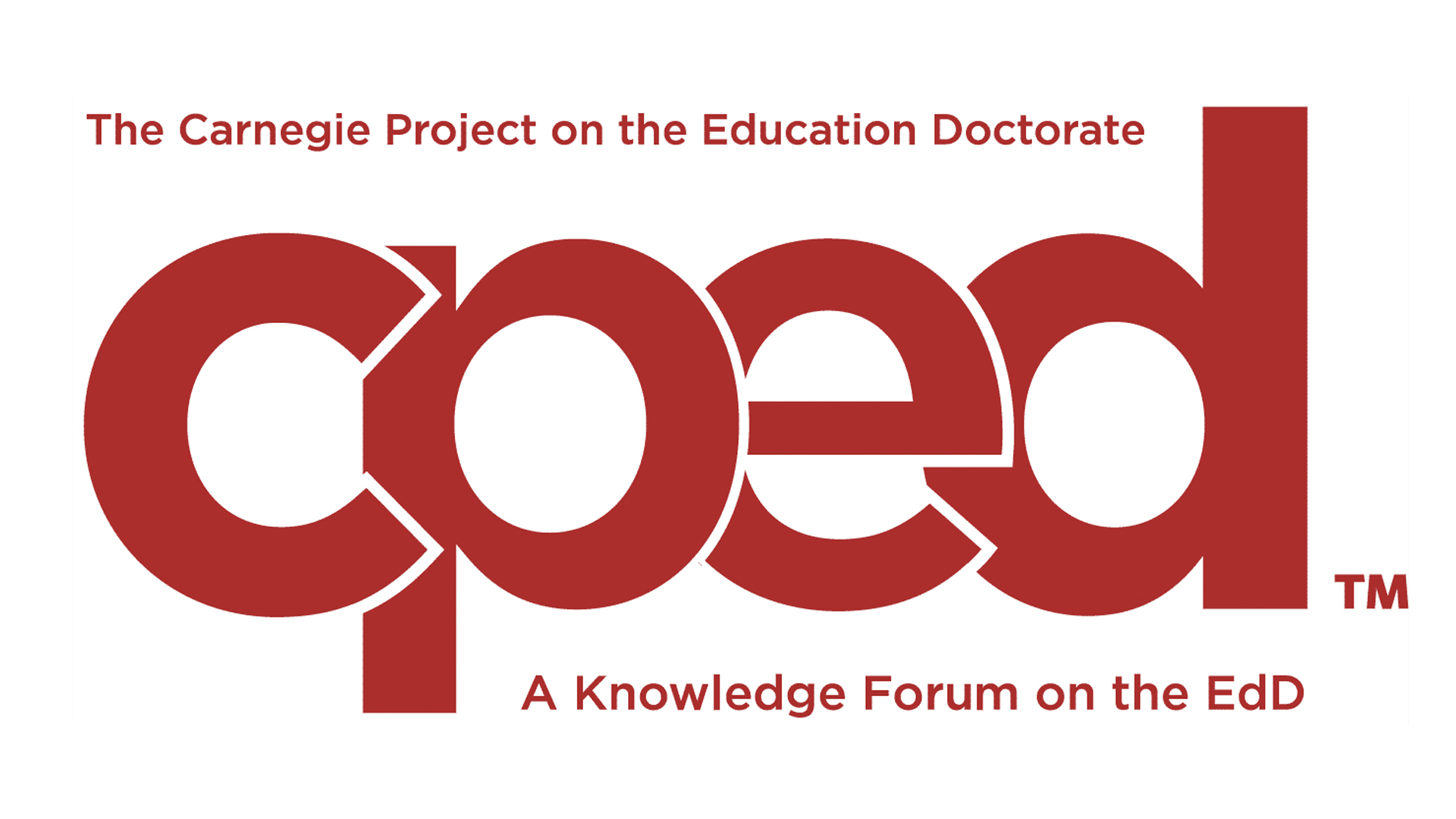 Carnegie Project on the Education Doctorate (CPED)