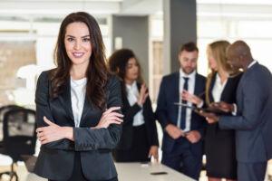 School of Leadership Studies business woman