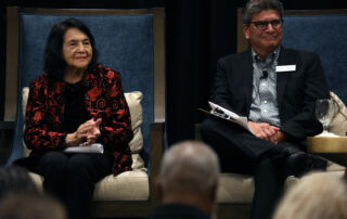 Dolores Huerta event at Fielding
