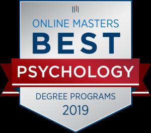 Since 2015 Best Online Master's in Psychology Program OnlineMasters.com 2019